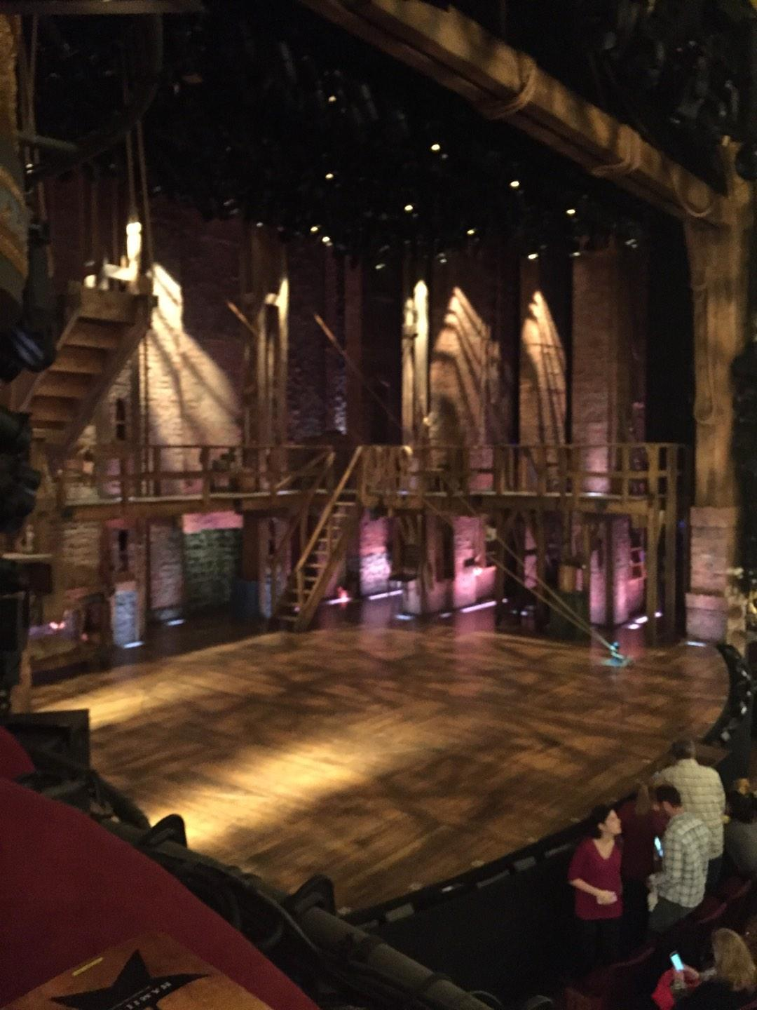 Richard Rodgers Theatre Section Box B Row 1 Seat 3
