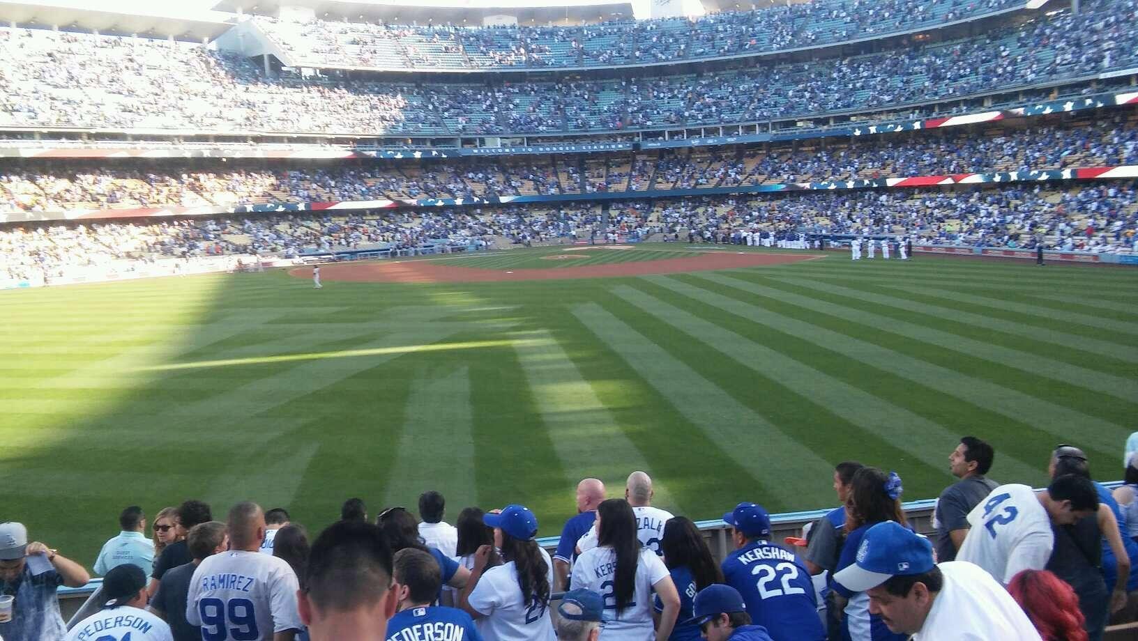 Dodger Stadium Section 311/313