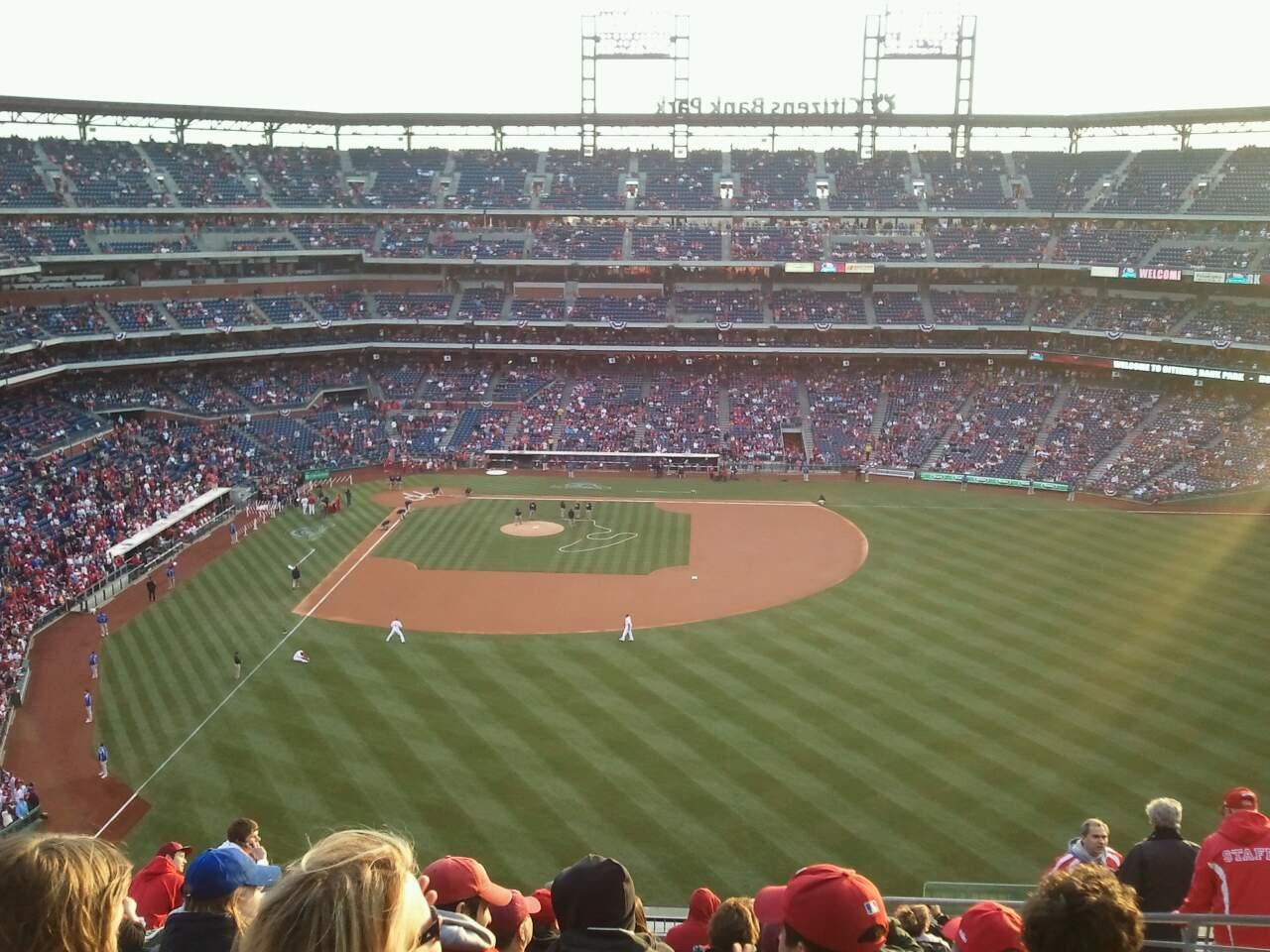 Citizens Bank Park Section 303 Row 15 Seat 6