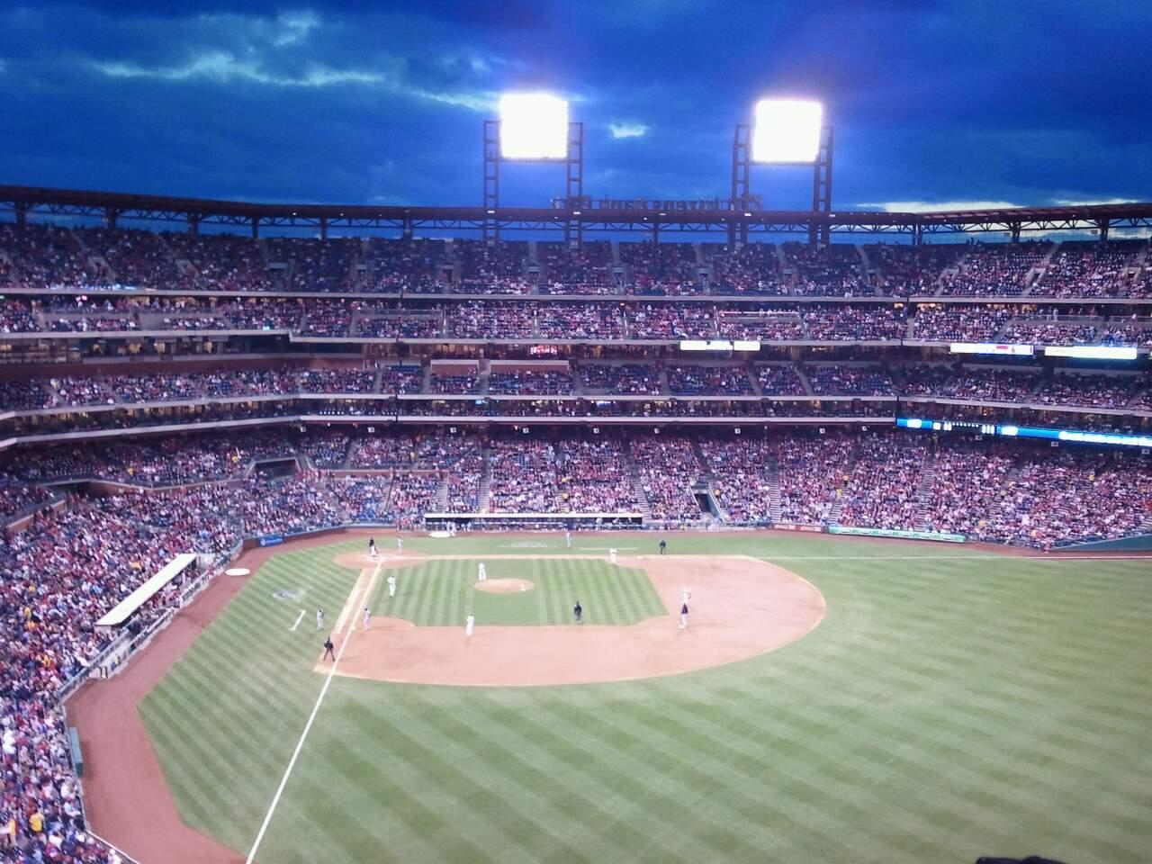 Citizens Bank Park Section 304 Row 11 Seat 12
