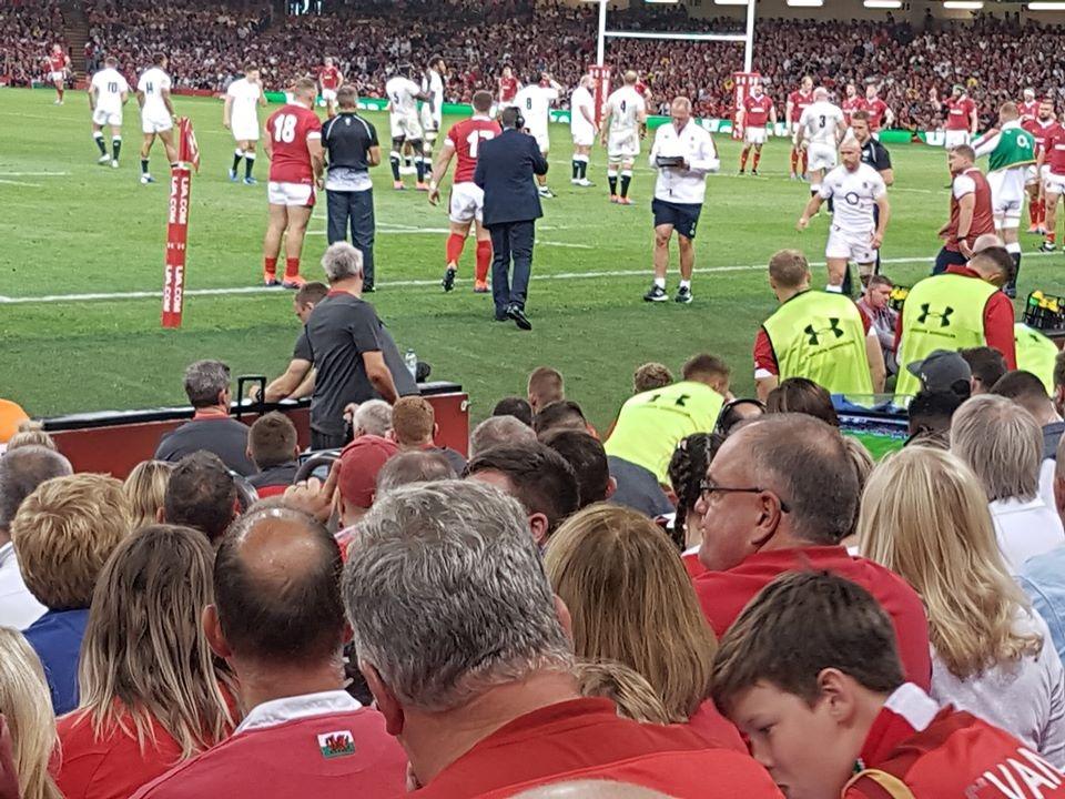 Principality Stadium Section L10 Row 10 Seat 17