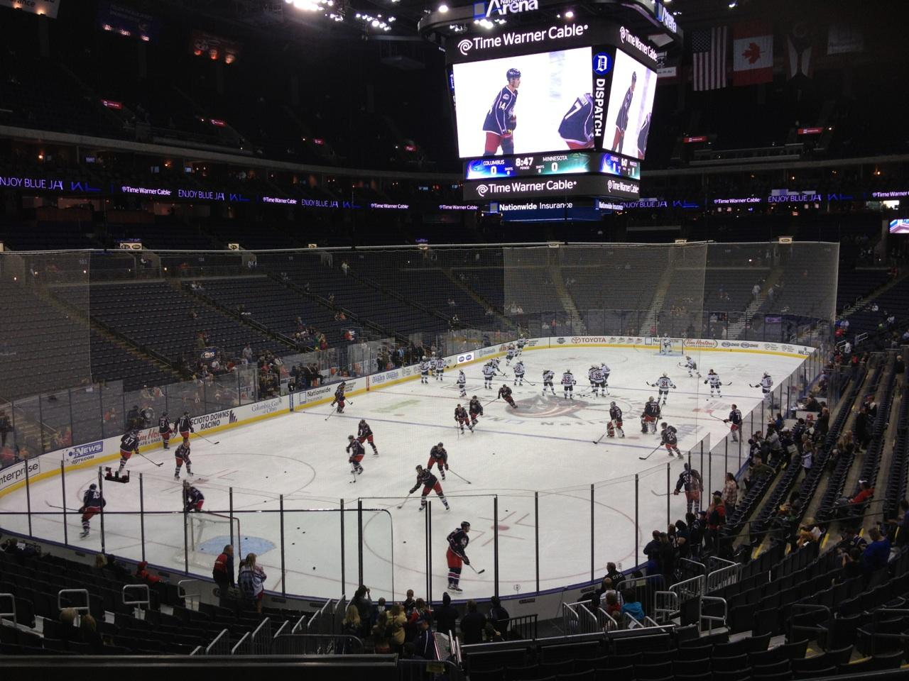 Nationwide Arena Section 118 - Columbus Blue Jackets - RateYourSeats.com