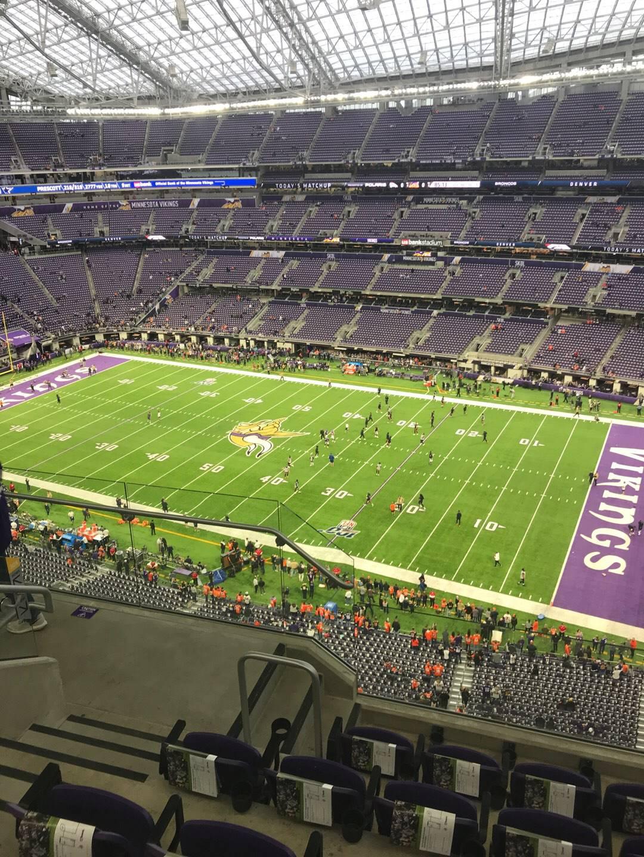 U.S. Bank Stadium Section 308 Row 5 Seat 18