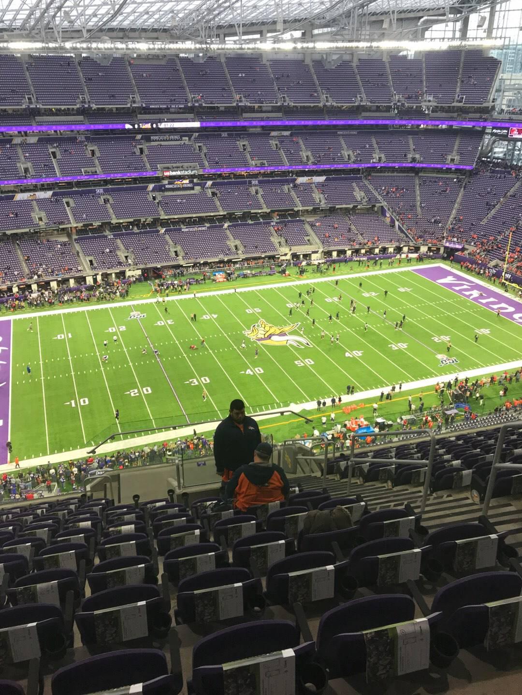U.S. Bank Stadium Section 315 Row 12 Seat 5