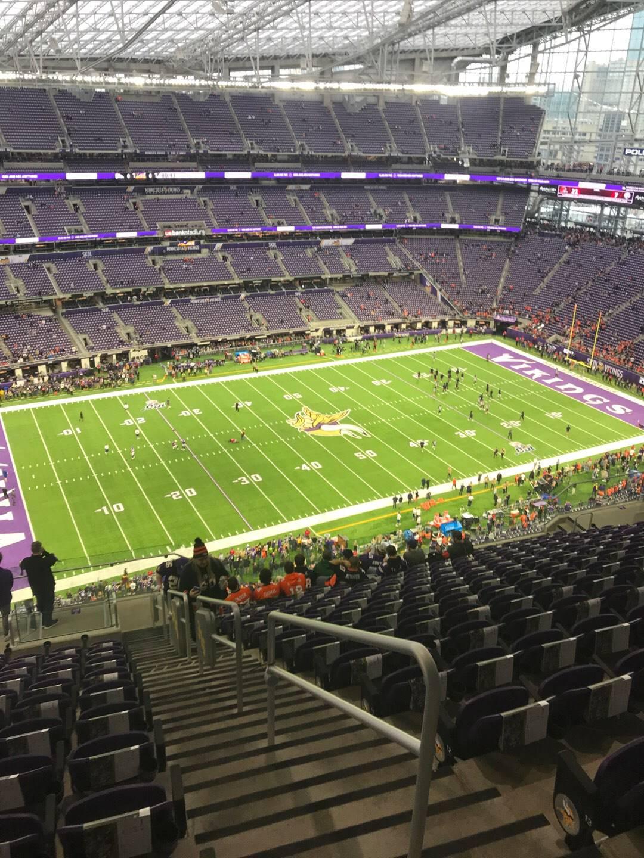 U.S. Bank Stadium Section 316 Row 15 Seat 1