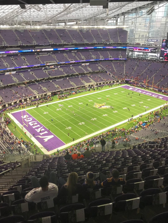 U.S. Bank Stadium Section 318 Row 20 Seat 20