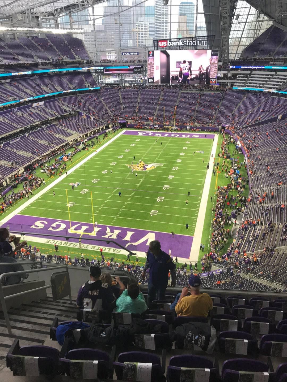 U.S. Bank Stadium Section 324 Row 8 Seat 12