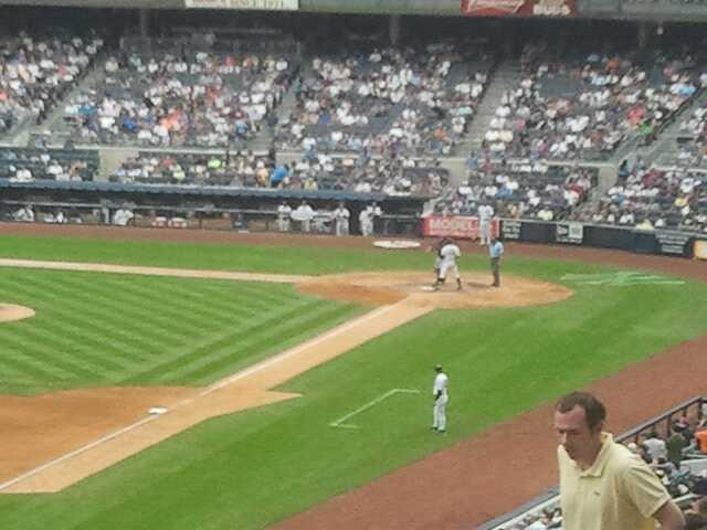 Yankee Stadium Section 231 Row 13 Seat 2