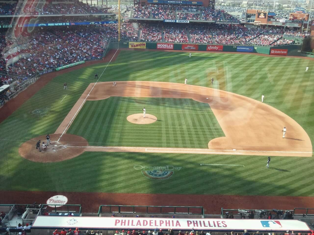 Citizens Bank Park Section 316 Row 1 Seat 12