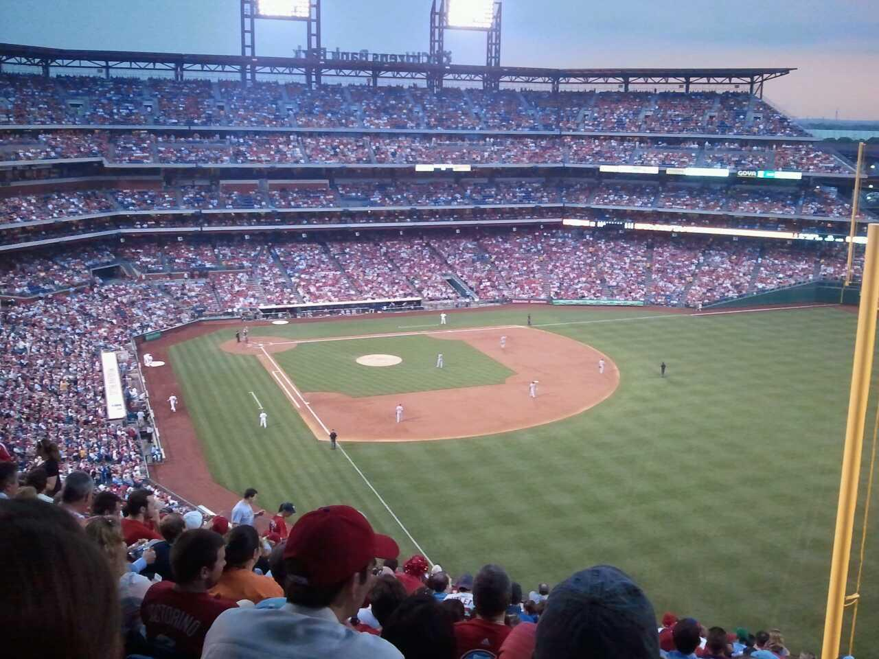 Citizens Bank Park Section 307 Row 20 Seat 4