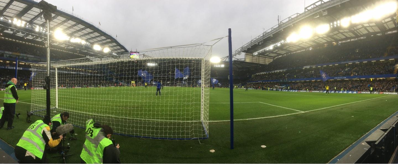 Stamford Bridge Section SL4 Row 1 Seat 102