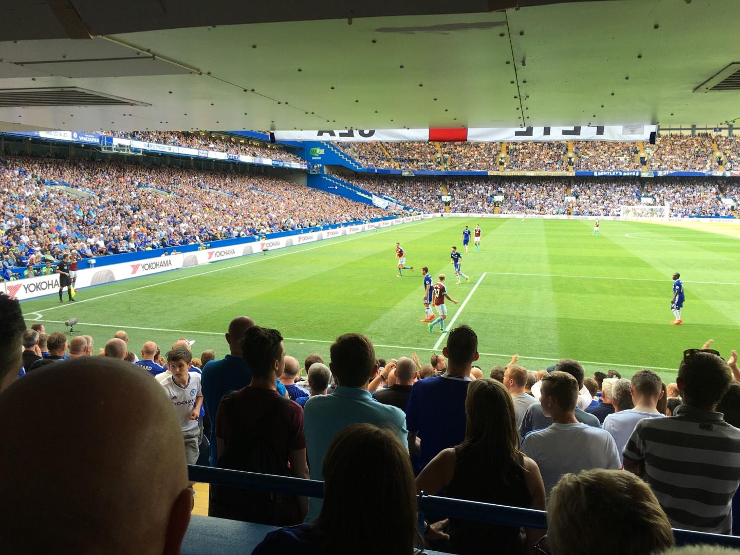 Stamford Bridge Section Shed End Lower 5 Row 15 Seat 145