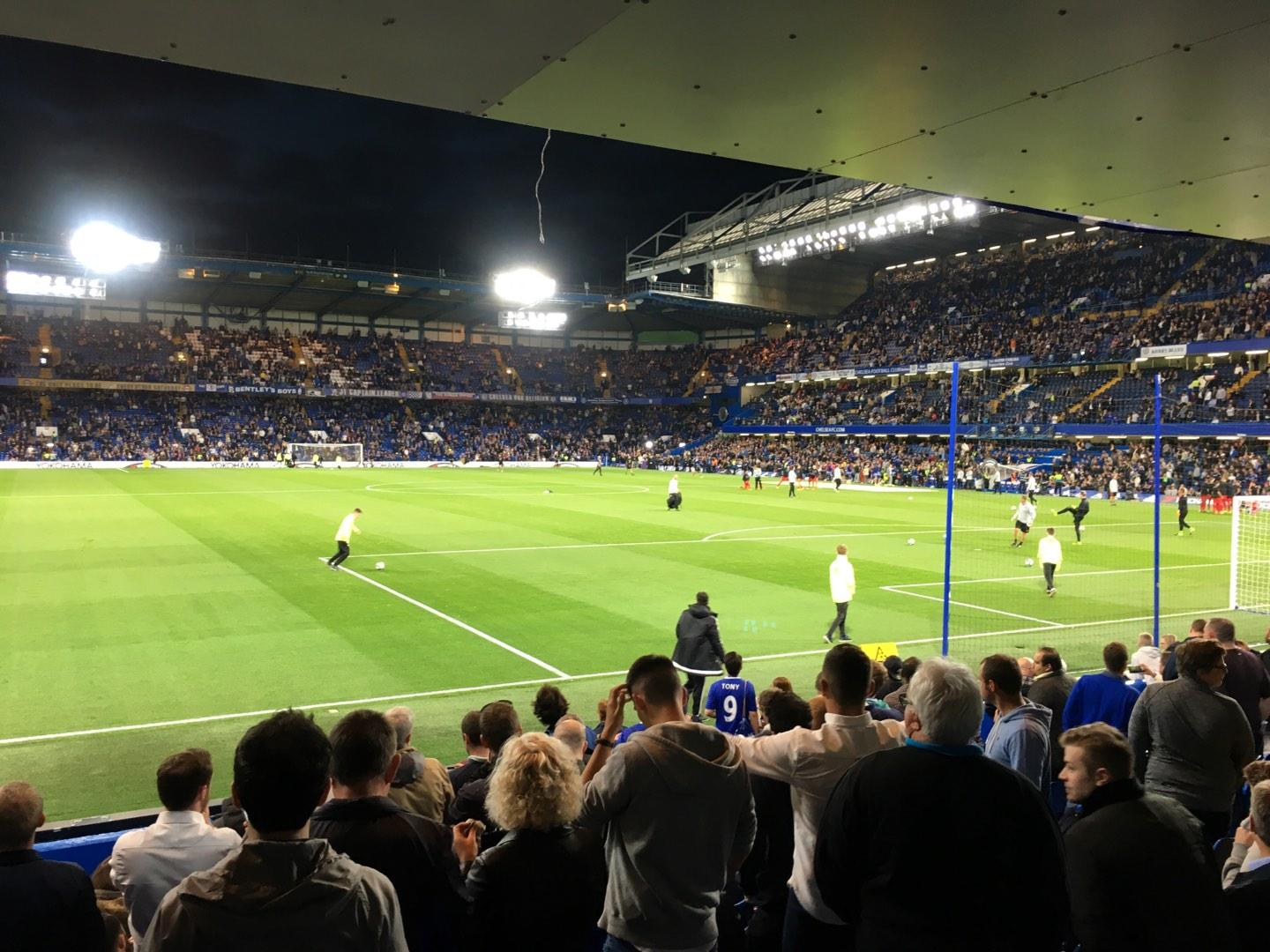 Stamford Bridge Section Shed End Lower 6 Row 13 Seat 164