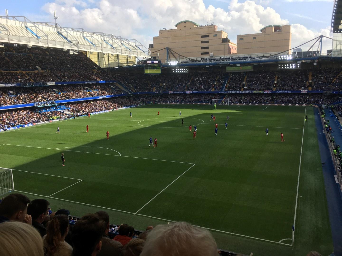 Stamford Bridge Section U09 Row G Seat 317