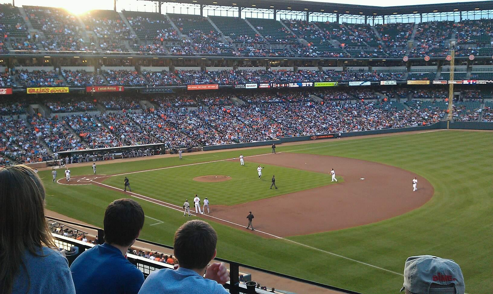Oriole Park at Camden Yards Section 212 Row 3 Seat 2