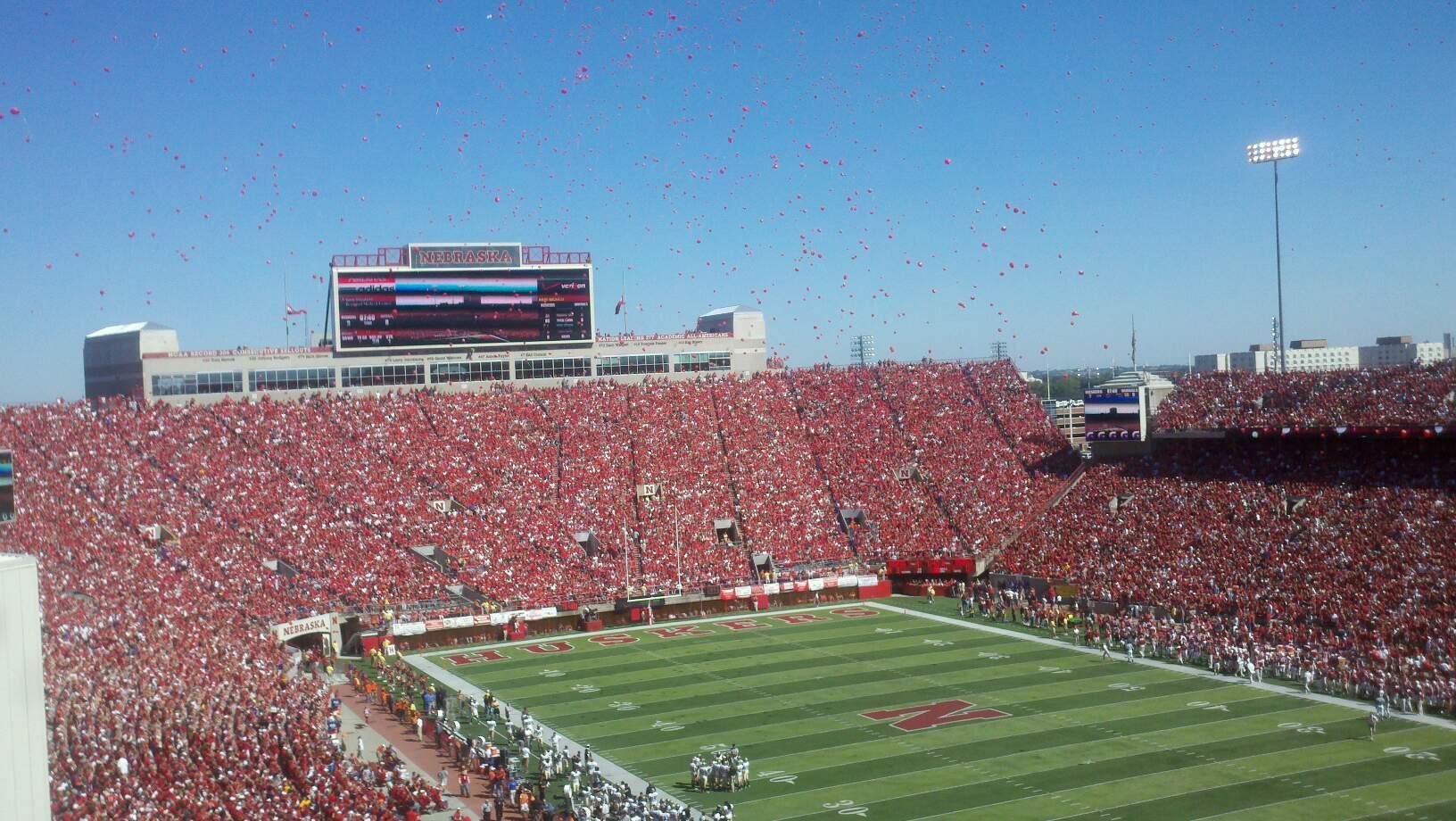 Memorial Stadium (Lincoln) Section 221