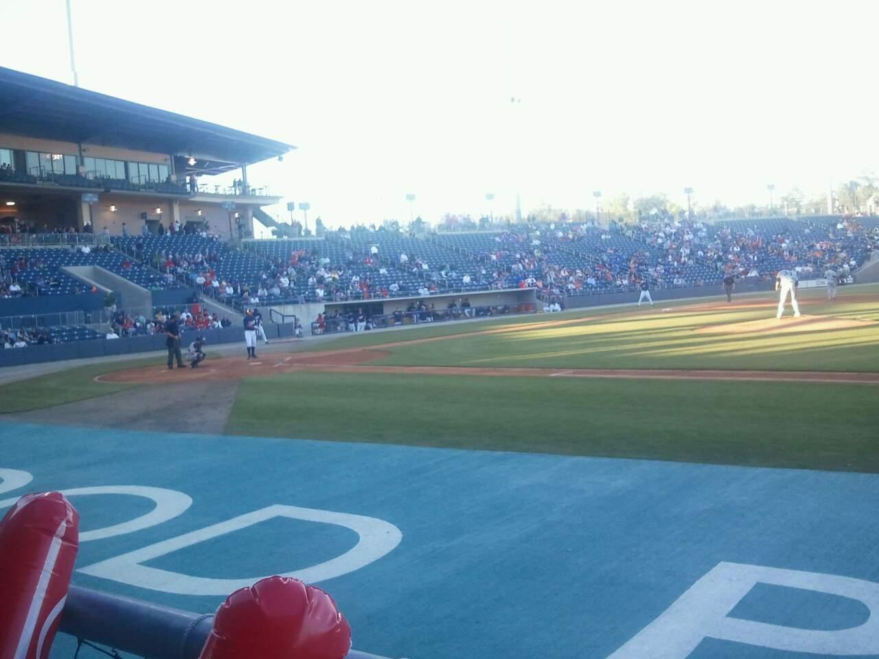 Coolray Field Section 109 Row D Seat 8
