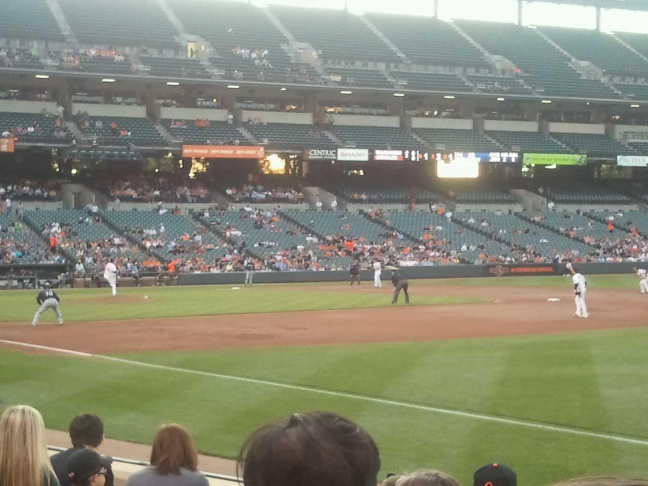 Oriole Park at Camden Yards Section 12 Row 6 Seat 3