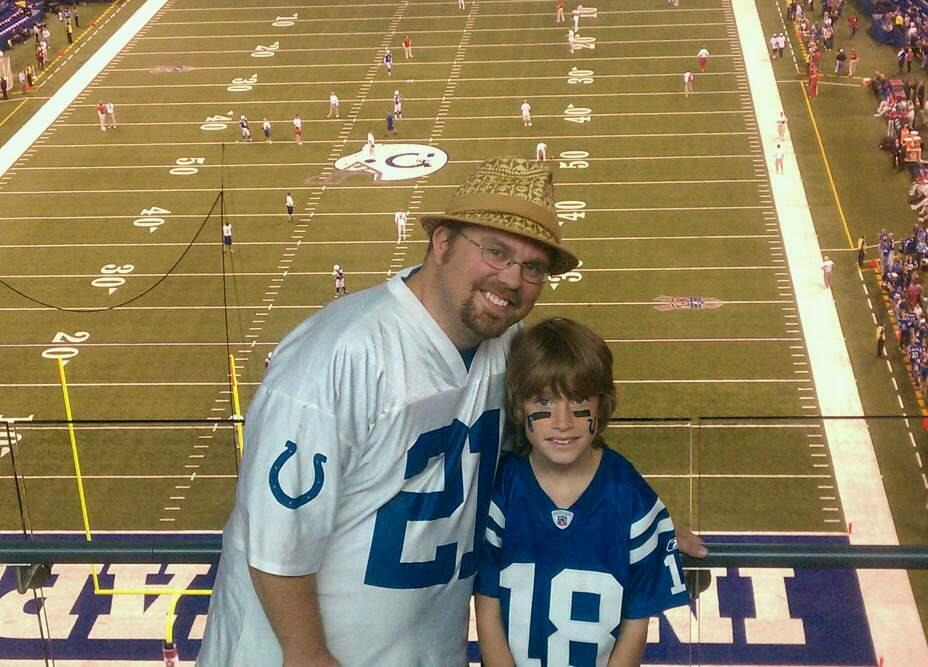 Lucas Oil Stadium Section 206 Row 18 Seat 12
