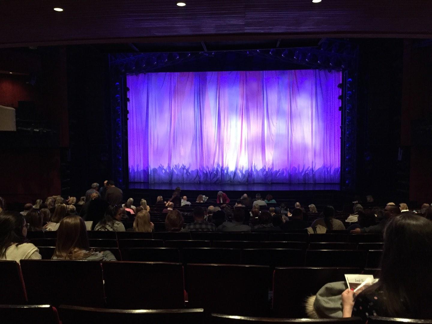 Marquis Theatre Section Orchestra C Row U Seat 115