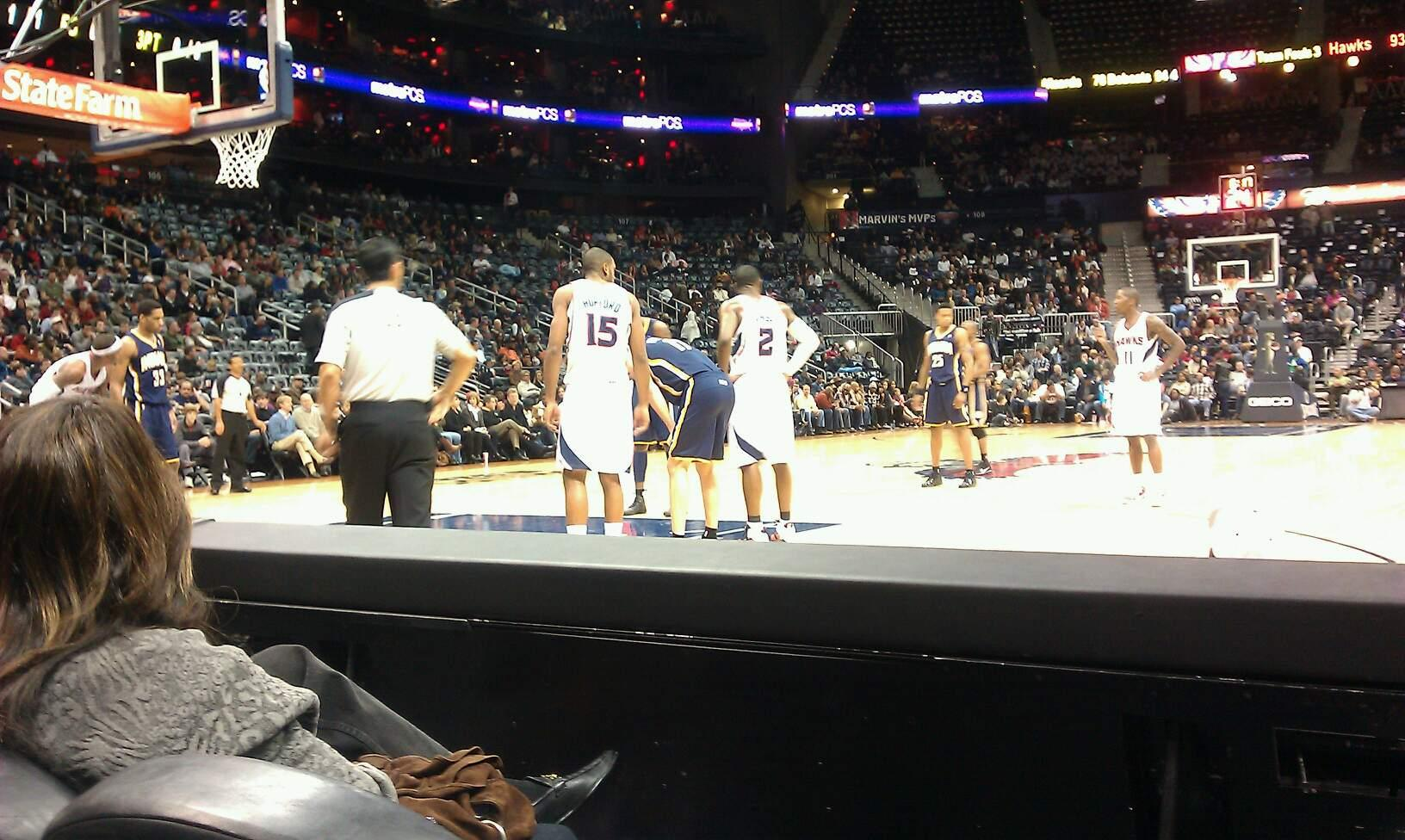 Philips Arena Section 119 Row Bb Seat 5