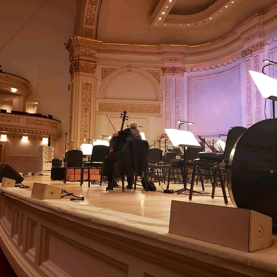 Carnegie Hall Section Parquet R Row A Seat 18