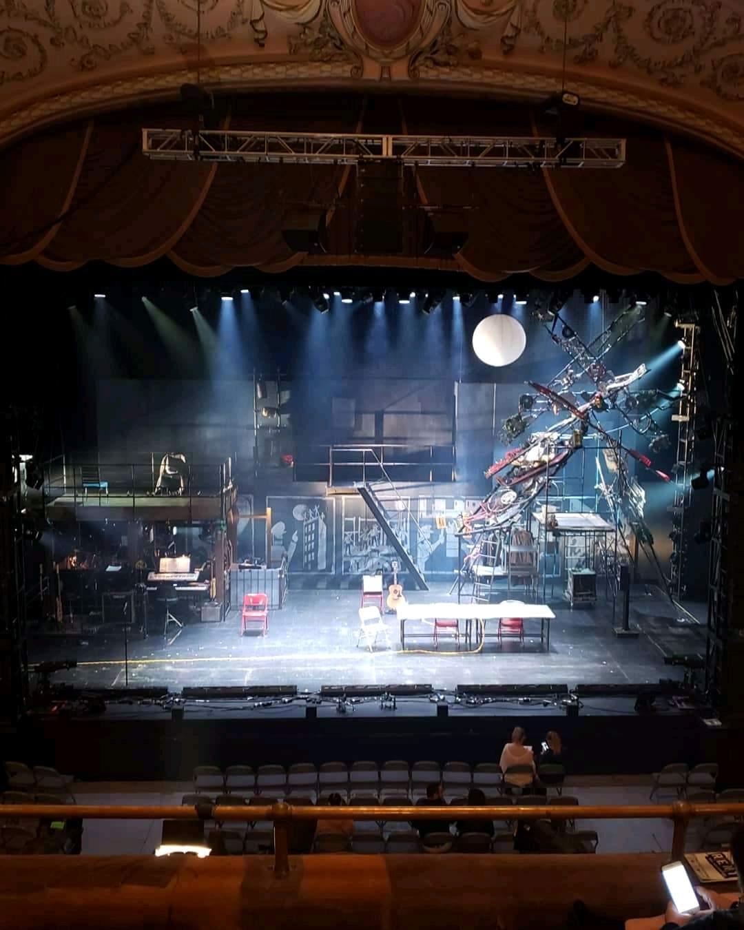Merriam Theater Section Balcony C Row D Seat 109