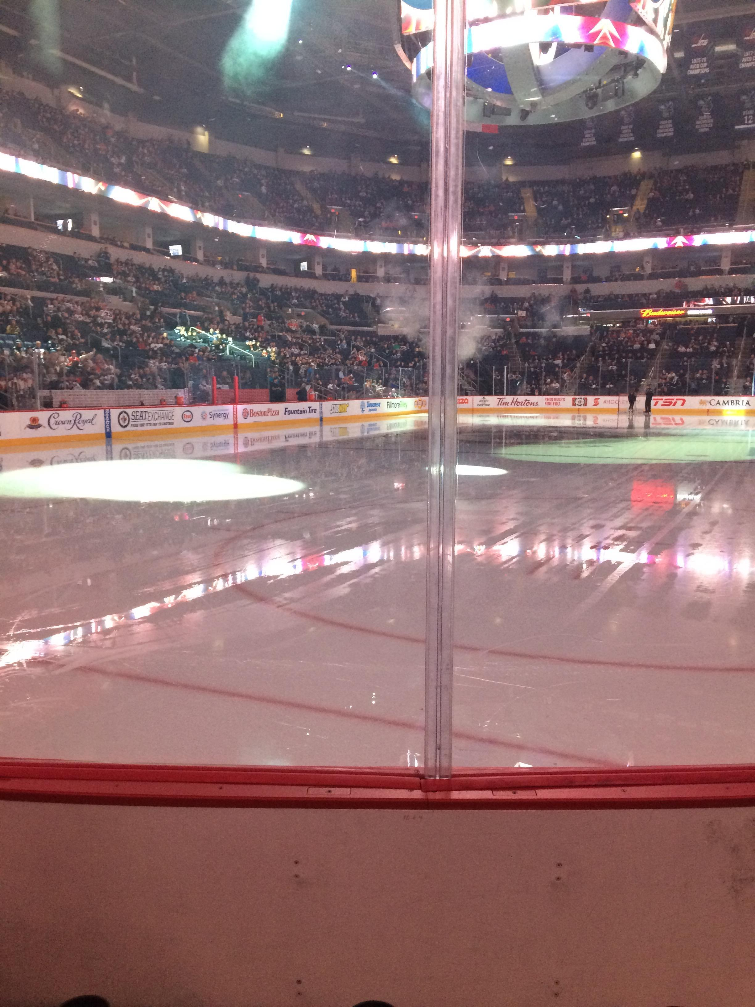 MTS Centre Section 111 Row 3