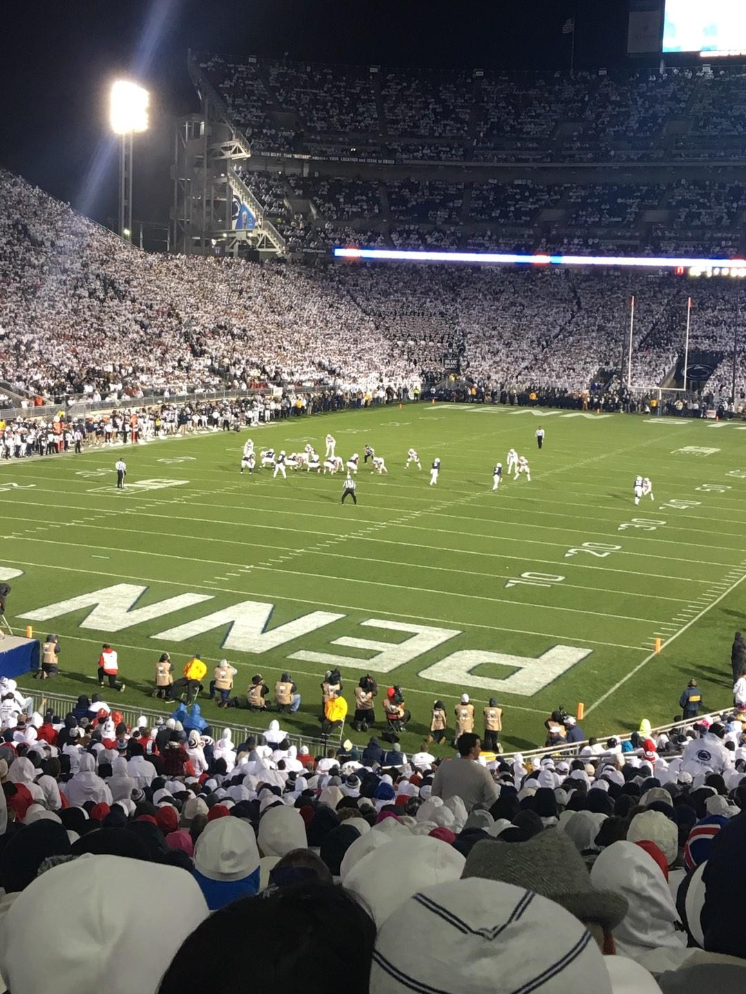 Beaver Stadium Section NC Row 47 Seat 16
