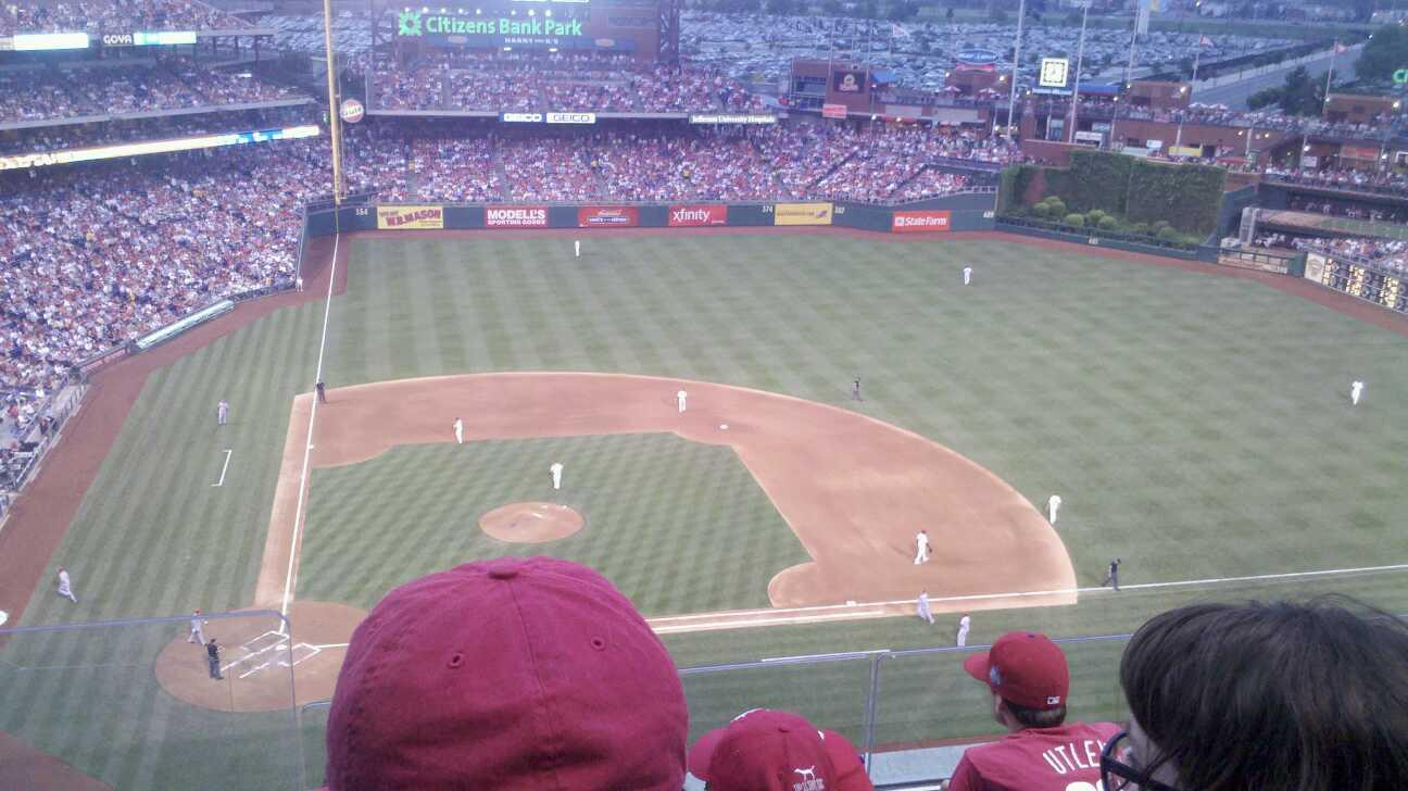 Citizens Bank Park Section 416 Row 4 Seat 23