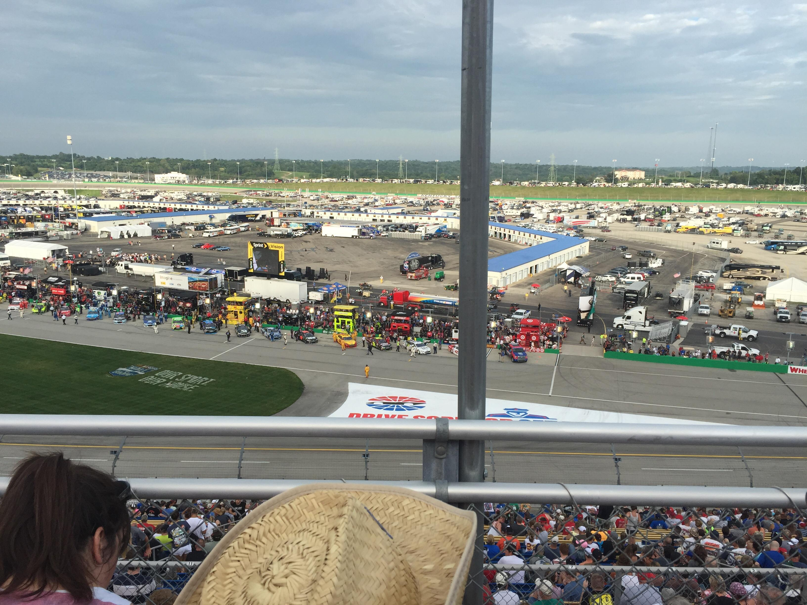 Kentucky Speedway Section KYTI Row 2 Seat 25