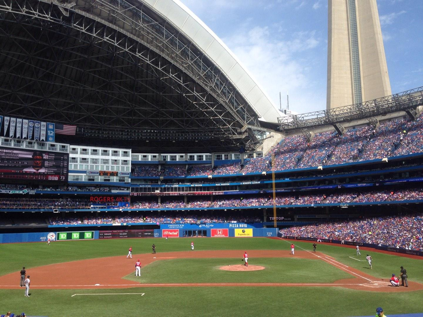 Rogers Centre Section 126R Row 28 Seat 9