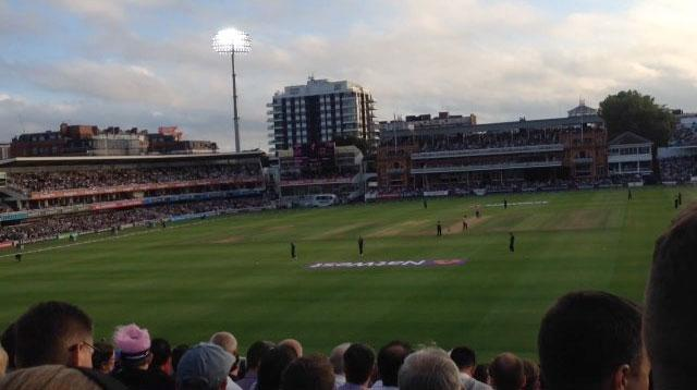 Lord's Cricket Ground Section 19 Row T Seat 72