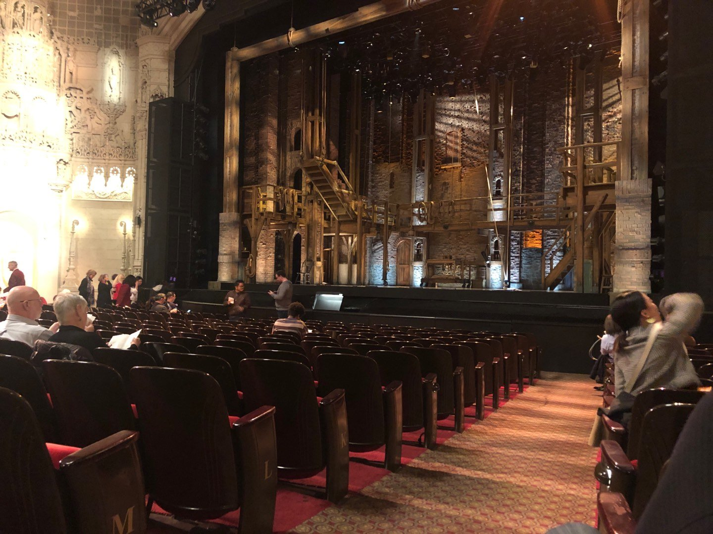 Orpheum Theatre (San Francisco) Section Orchestra R Row O Seat 2
