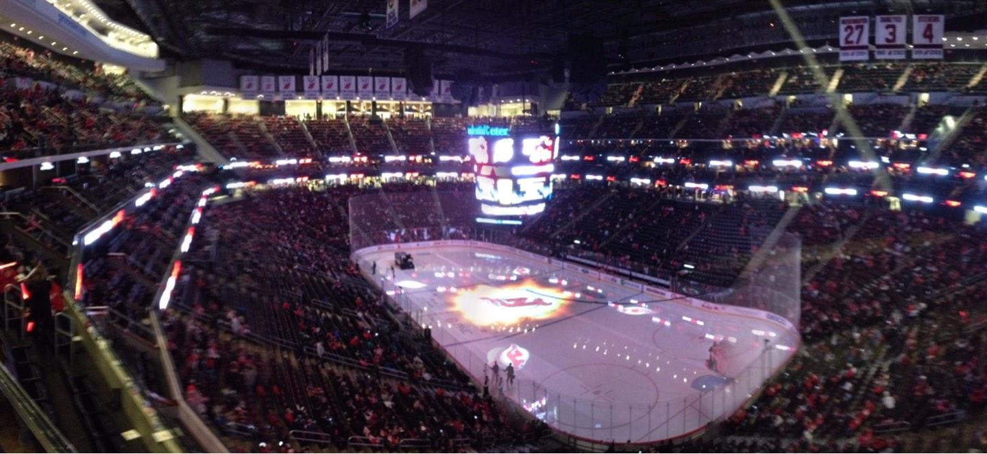 Prudential Center Section 133 Row 1 Seat 1
