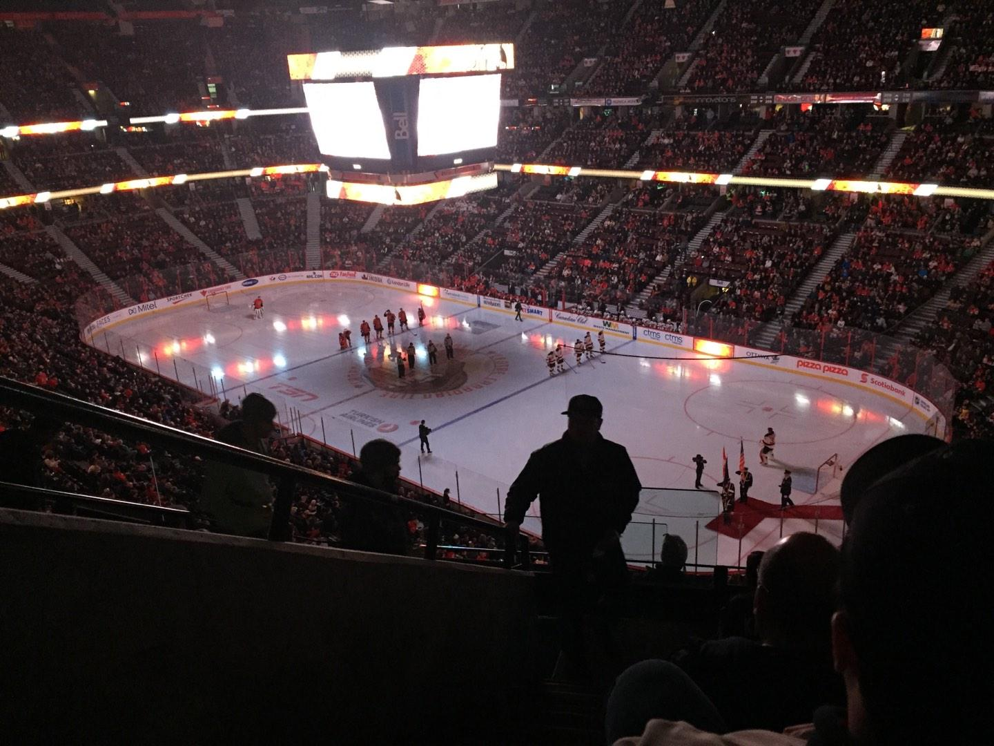 Canadian Tire Centre Section 318 Row G Seat 19