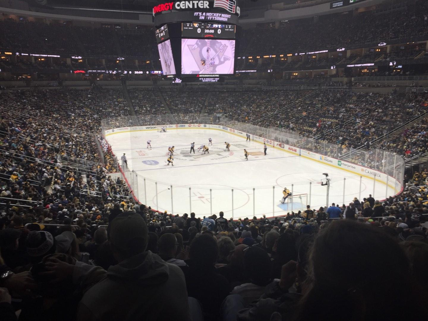 PPG Paints Arena Section 119 Row DD Seat 23
