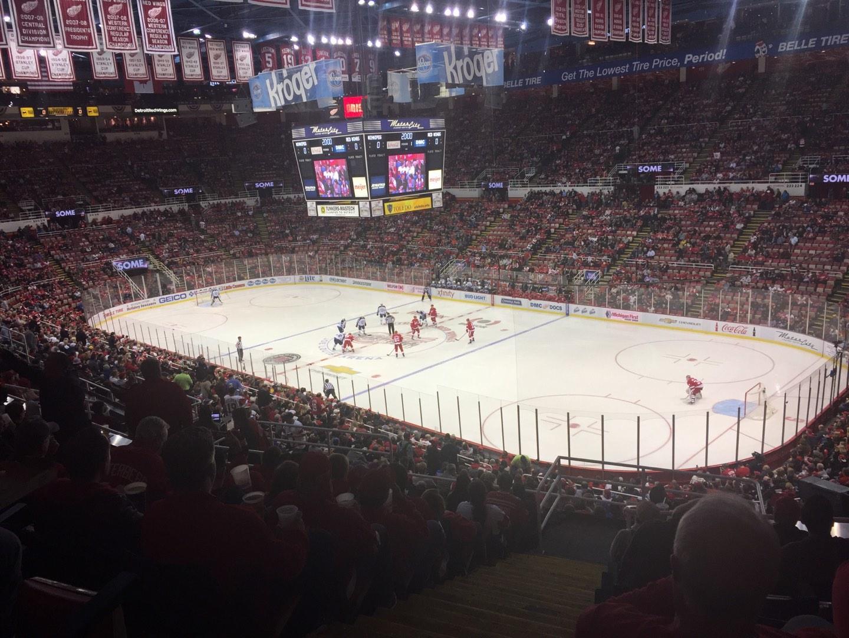 Joe Louis Arena Section 203C Row 12 Seat 35