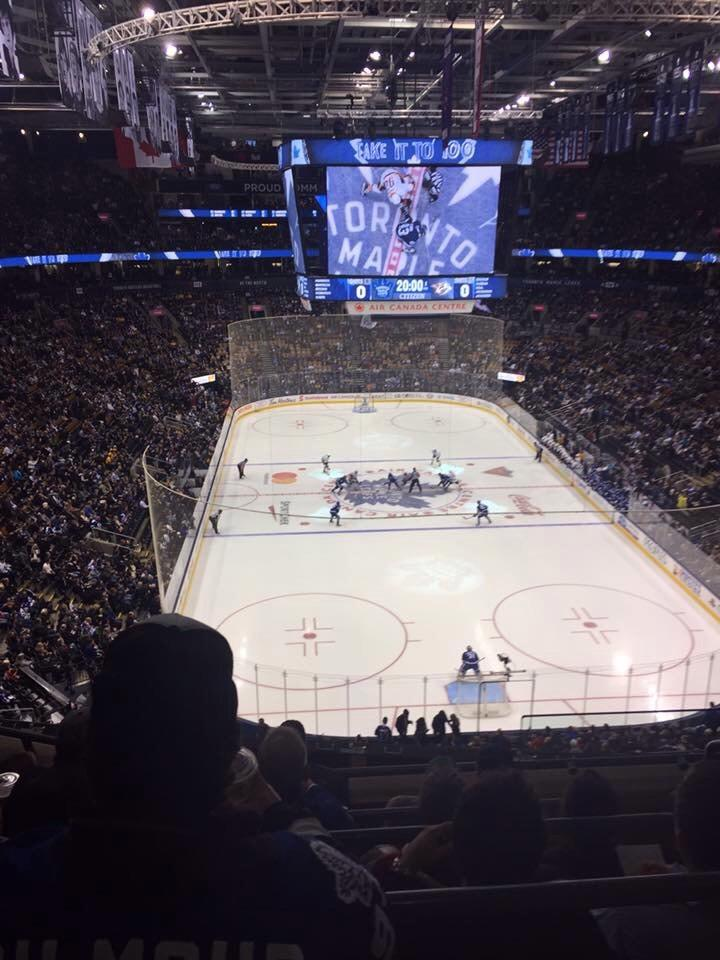 Scotiabank Arena Section 304 Row 5 Seat 1