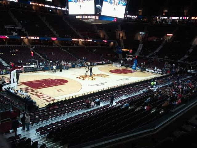 Quicken Loans Arena Section 106 Row 24
