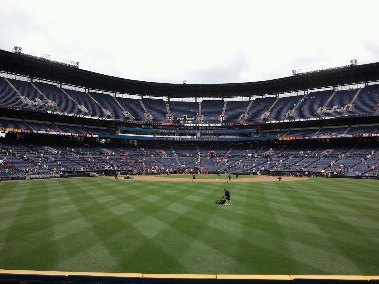 Turner Field Section 151 Row 18 Seat 110