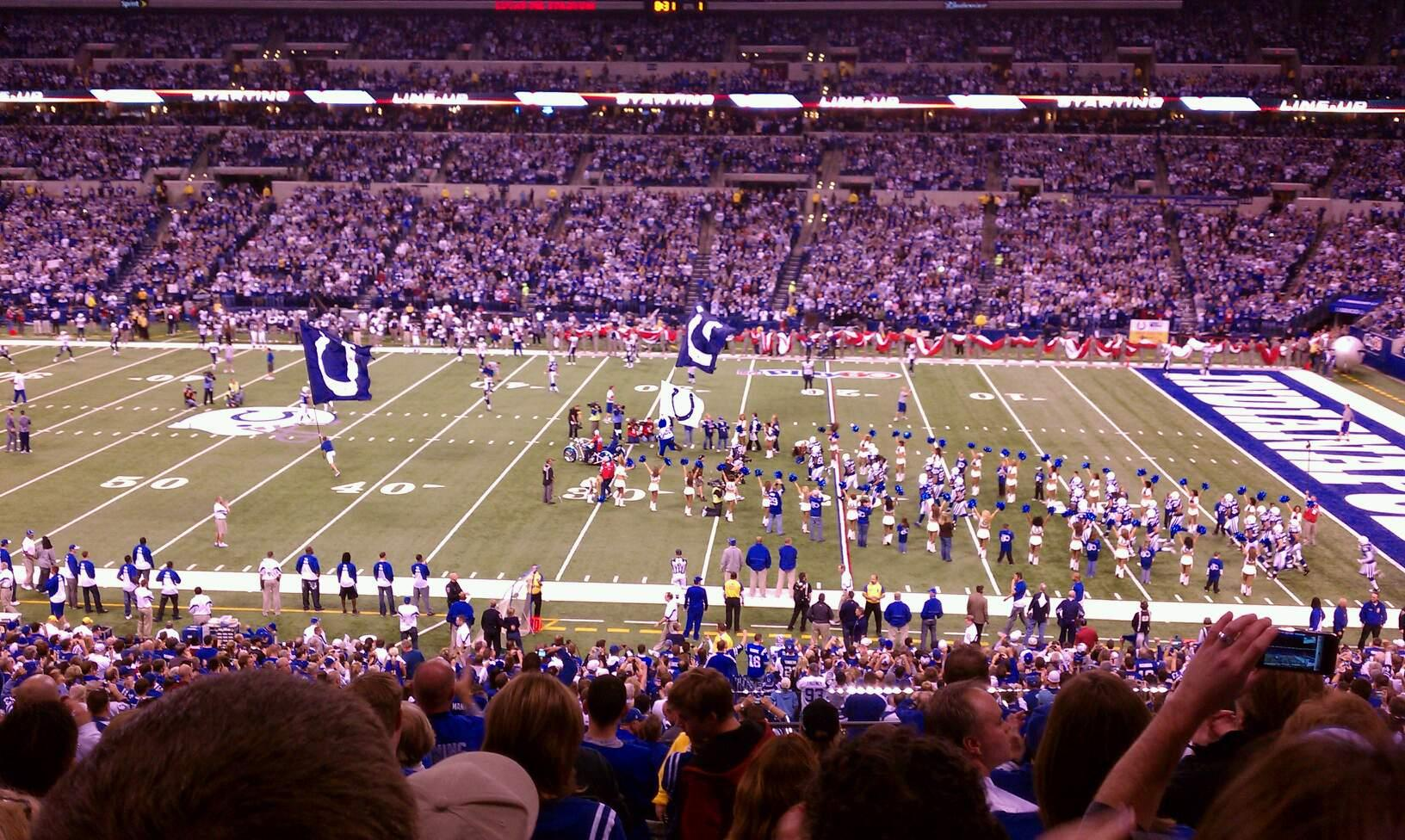 Lucas Oil Stadium Section 238