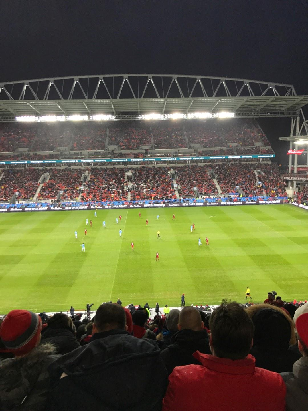 BMO Field Section 223 Row 21 Seat 10