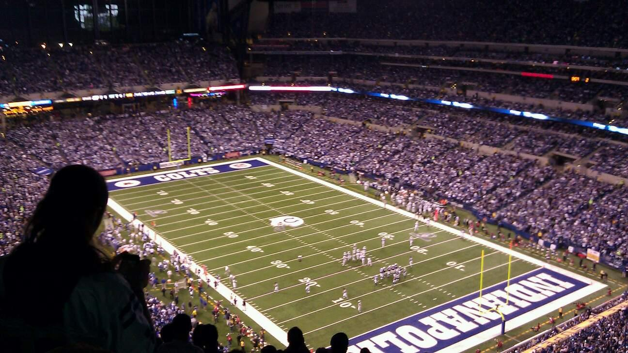 Lucas Oil Stadium Section 631 Row 16 Seat 5