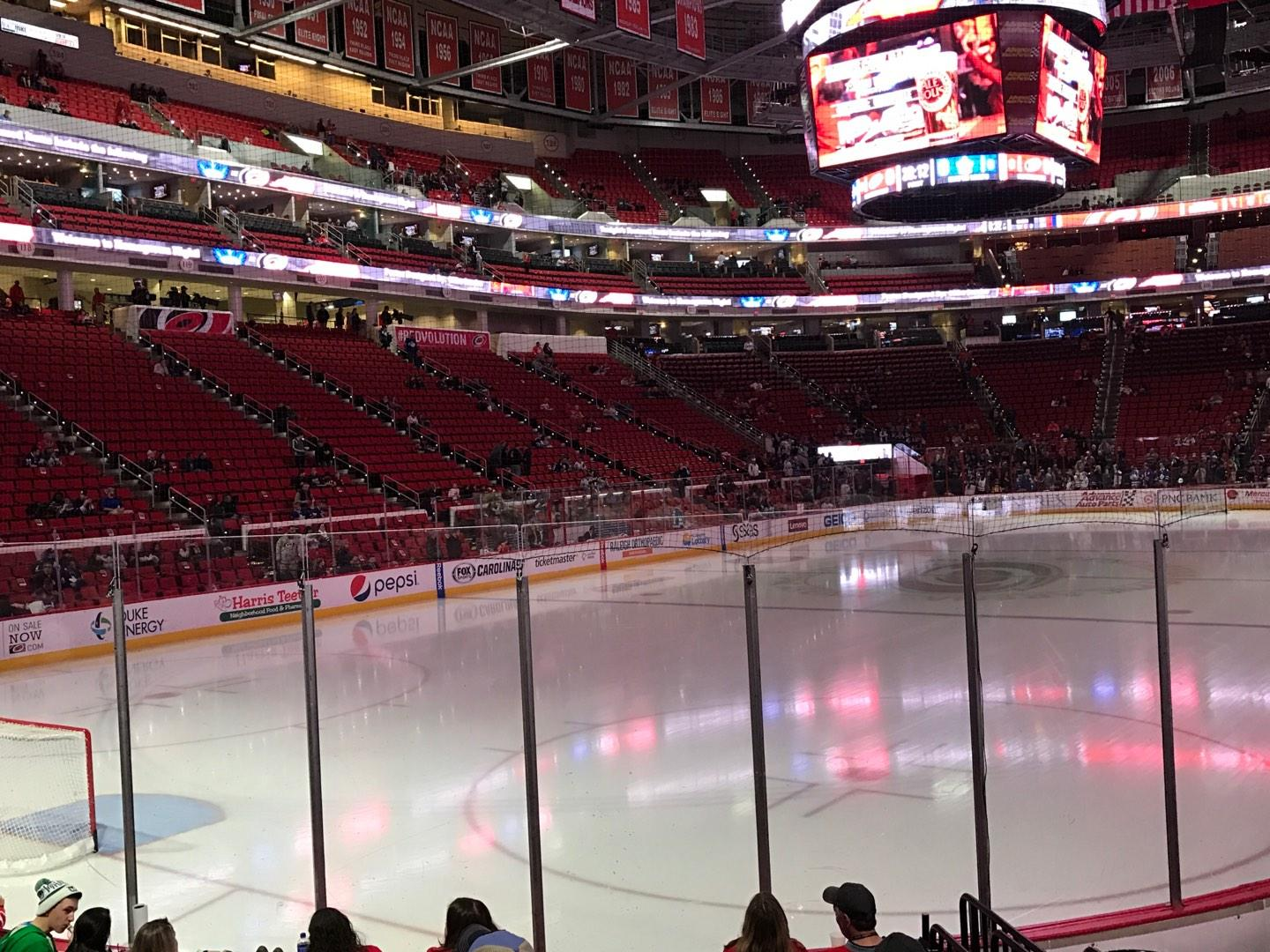 PNC Arena Section 109 Row J Seat 6
