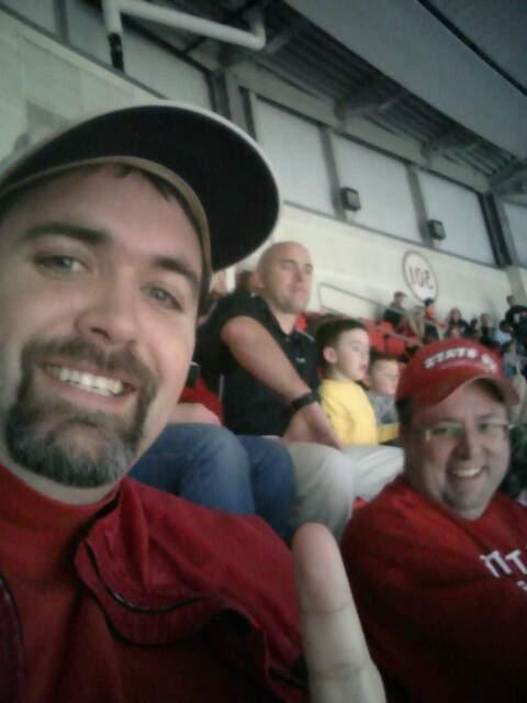 PNC Arena Section 302 Row H Seat 15