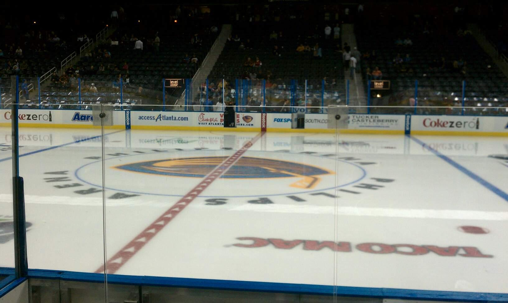 State Farm Arena Section 119 Row F Seat 4