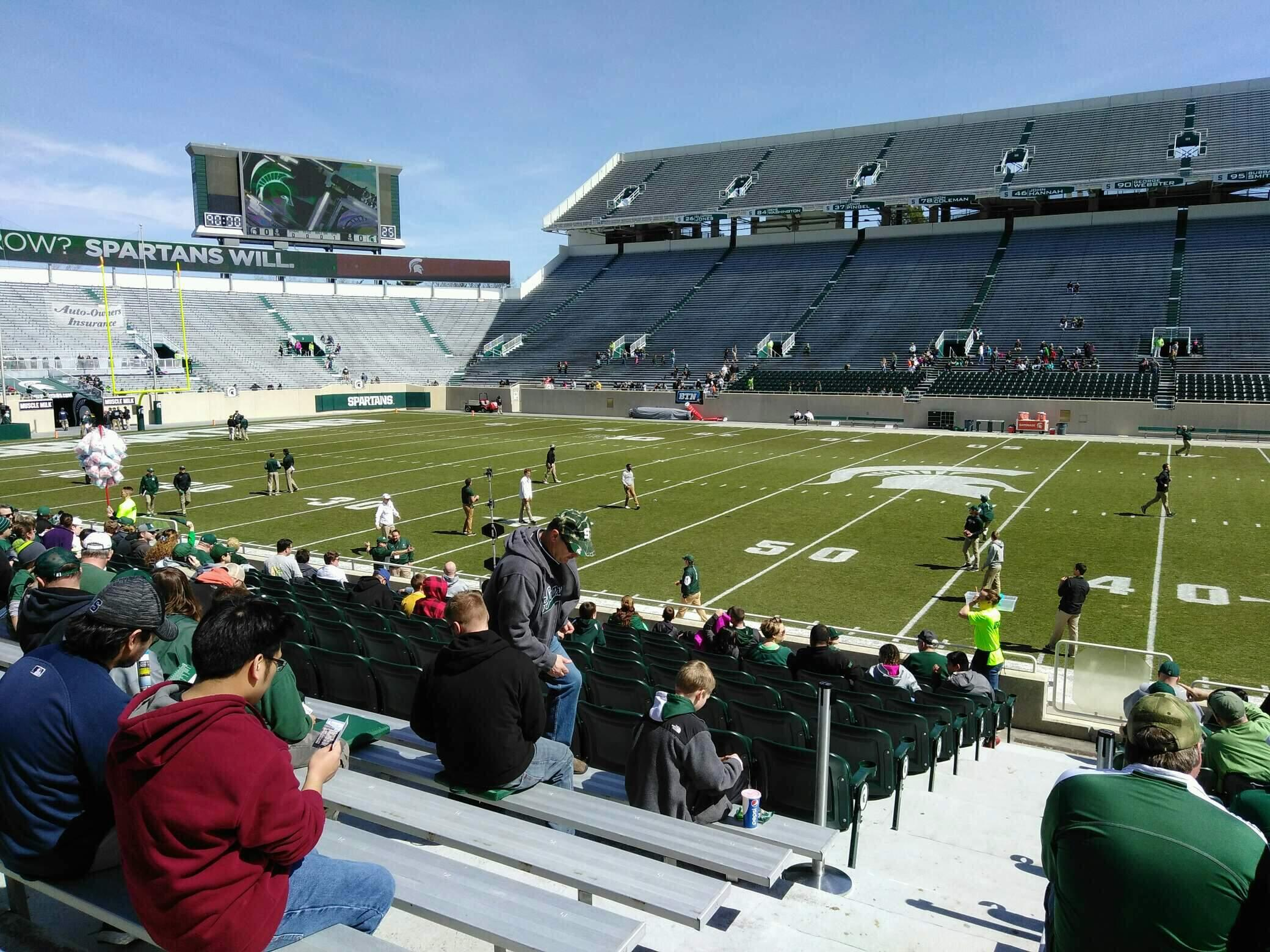 Spartan Stadium Section 23 Row 18 Seat 18