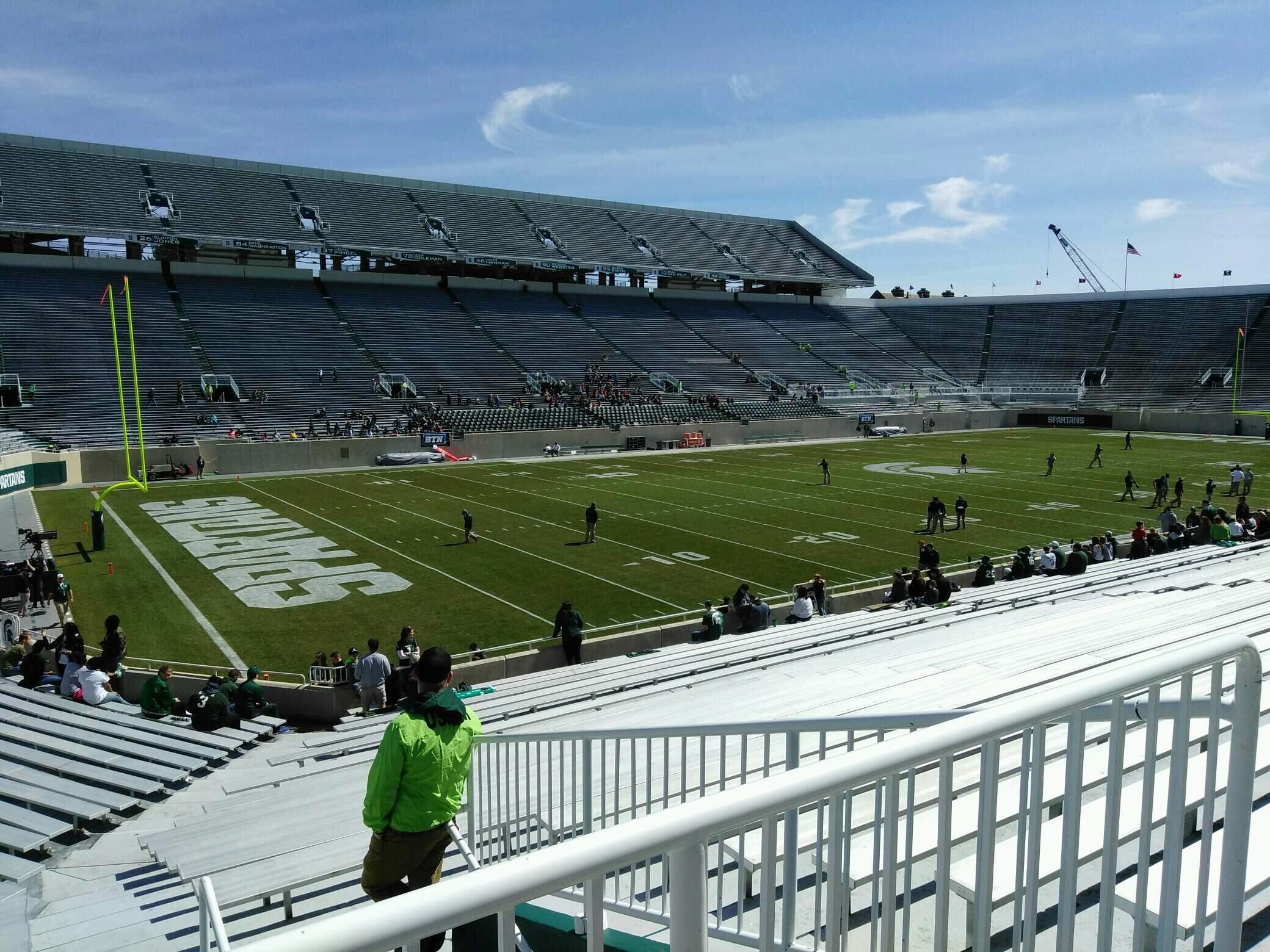 Spartan Stadium Section 28 Row 28 Seat 21