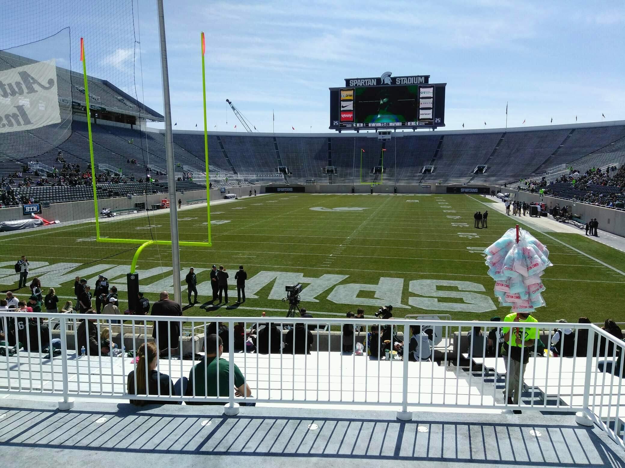 Spartan Stadium Section 30 Row 19 Seat 42